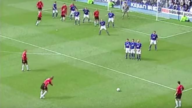 David Beckham's Last Game For Manchester United