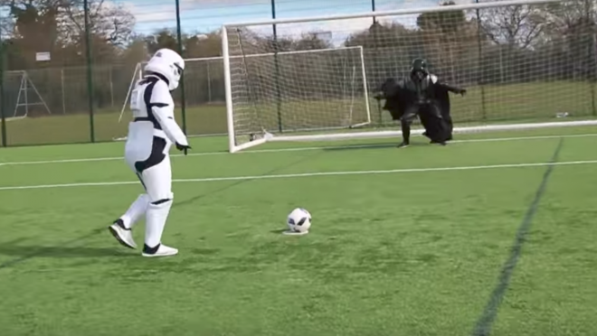Star Wars Soccer F2 Freestylers