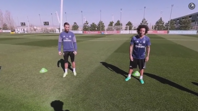 Train with Real Madrid