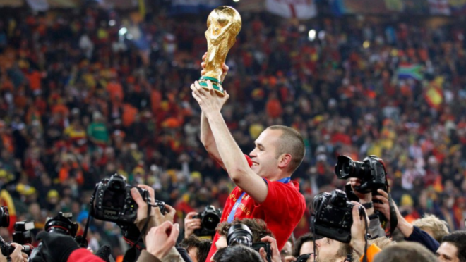 Andres Iniesta World Cup Winning Goal