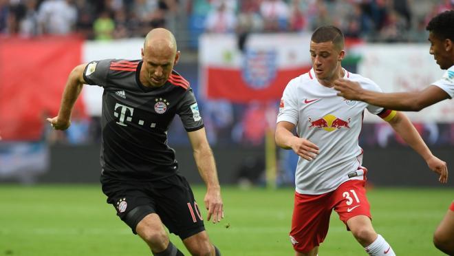 Arjen Robben Scores Winning Goal In Extra Time VS RB Leipzig