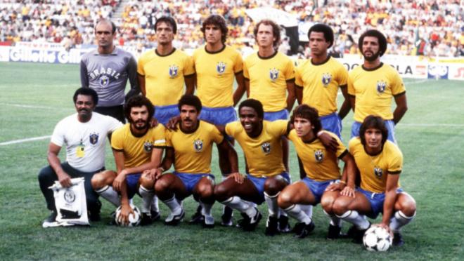 Best Soccer team Brazil 1982