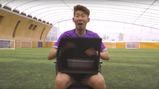 Heung-Min Son is scared of jelly