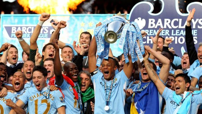 Manchester City documentary Premier League champions 2011/12