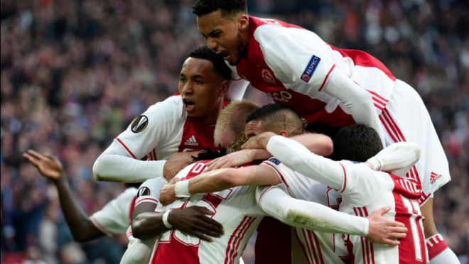 Ajax hyped video for Europa League