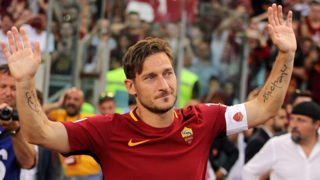 Francesco Totti Last Game For AS Roma
