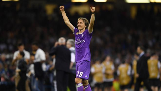 Luka Modric highlights from Champions League final