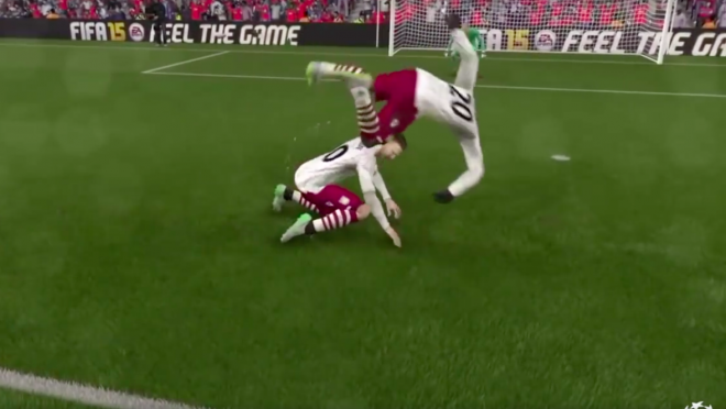 Players are flopping in FIFA now!