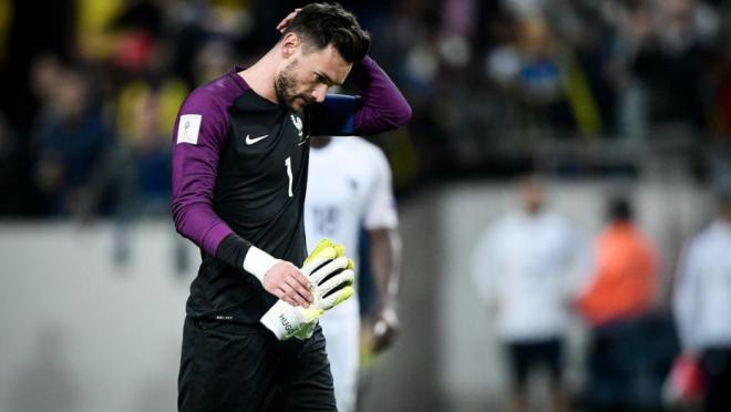 Hugo Lloris fail vs Sweden