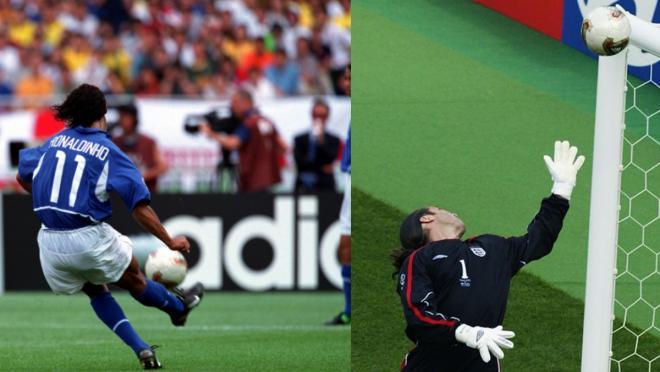 Ronaldinho Goal vs England 2002 World Cup