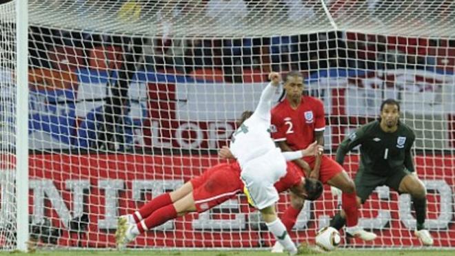 John Terry World Cup Diving Header VS Slovenia