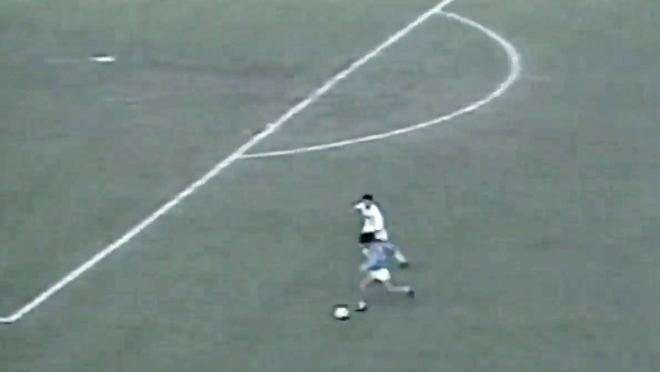 Maradona no-look goal vs Lazio