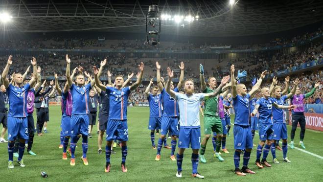 Iceland Vs England UEFA Euro 2016
