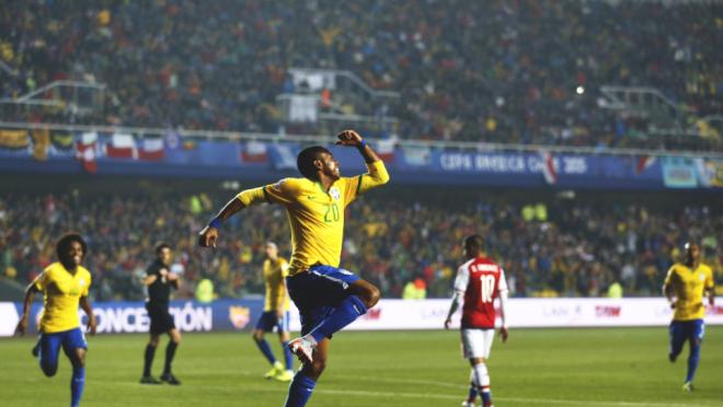Robinho celebration