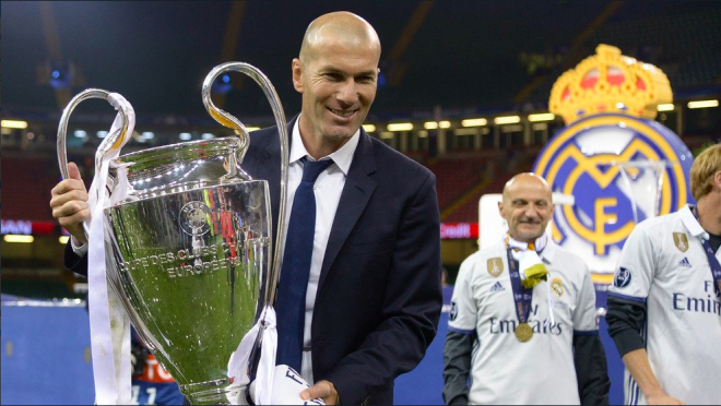 What has caused Zidane's success as manager?