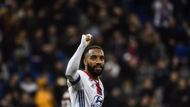 Alexandre Lacazette goals for Lyon