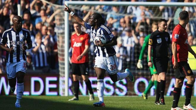 Romelu Lukaku Hat-Trick Against Man U Playing For West Brom