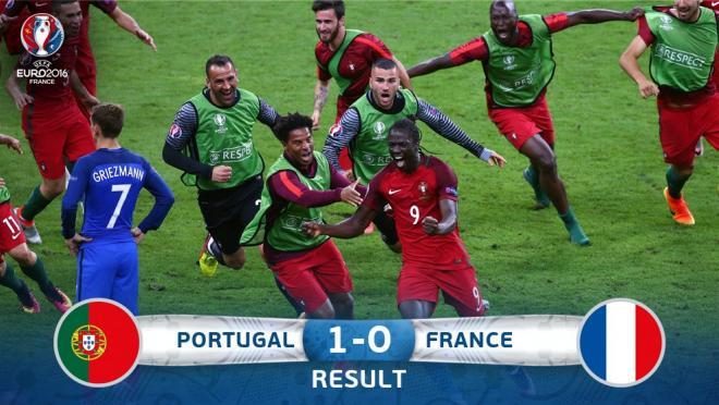 Portugal Euro Final 2016 Eder Goal