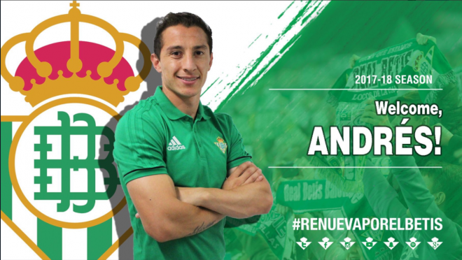 Andres Guardado Real Betis Signing Video