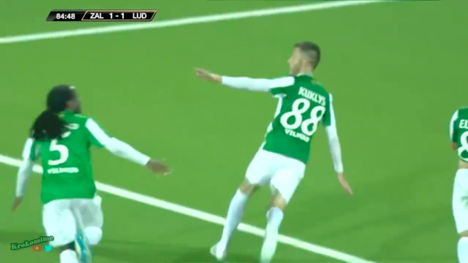 UCL Qualifiers feature beauty goal from Kuklys