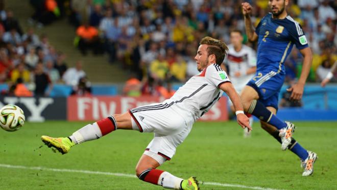 Mario Gotze goal vs Argentina