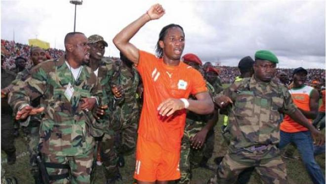 Didier Drogba Helped Bring Peace To The Ivory Coast In 2005