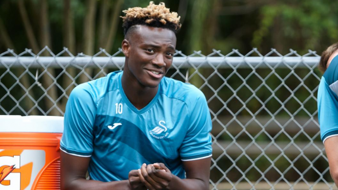 Tammy Abraham signs Swansea initiation Boys II Men