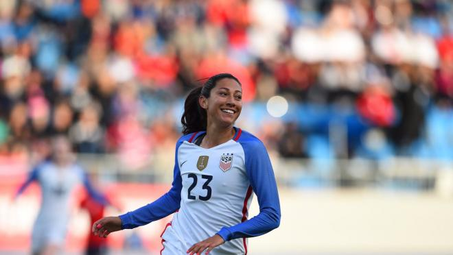 Christen Press Is A Goal Scoring Machine