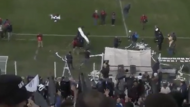Drone Taken Out At Match In Argentina