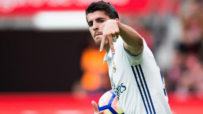Alavaro Morata says goodbye to Real Madrid