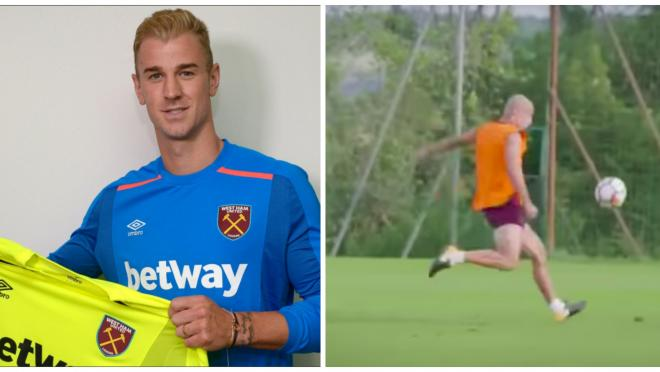 Joe Hart Welcomed to West Ham