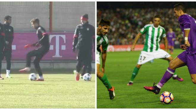 Thomas Muller Impersonates Cristiano Ronaldo