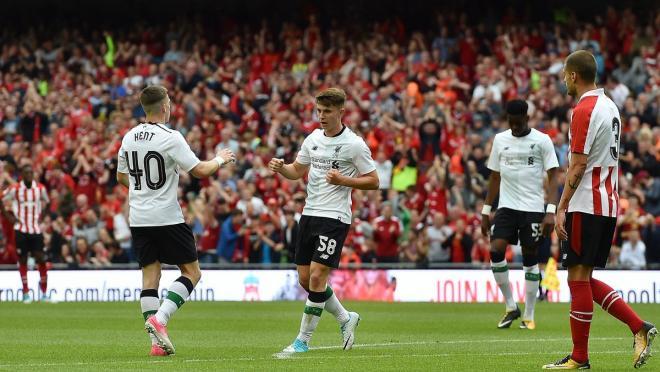 Ben Woodburn Goal Against Athletic Bilbao