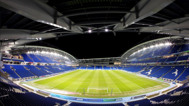 Brighton and Hove Albion Stadium Story
