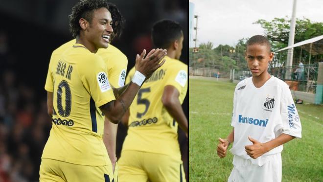 The history of Neymar, Neymar History