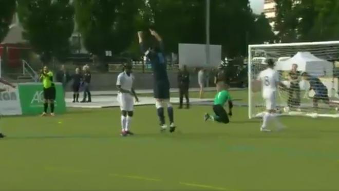Daniel English Blind England Goal