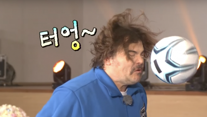 Jack Black Korean Game Show