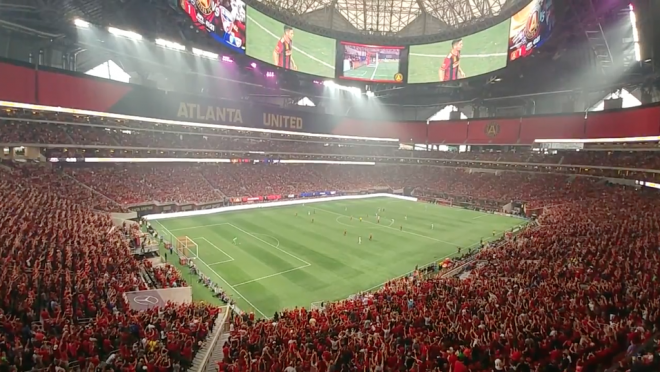 Atlanta United Stadium Atmosphere