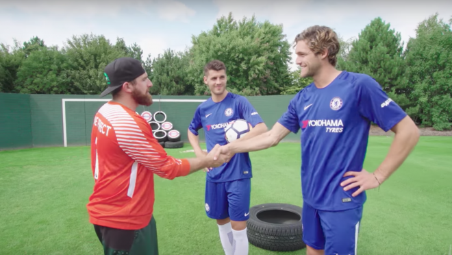 Dude Perfect with Marcos Alonso