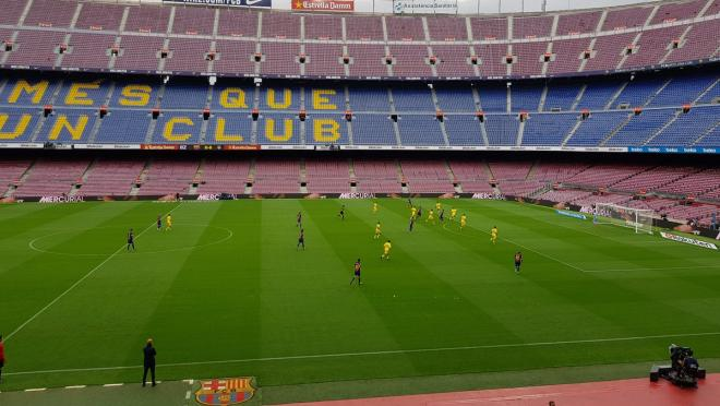 Empty Camp Nou FC Barcelona