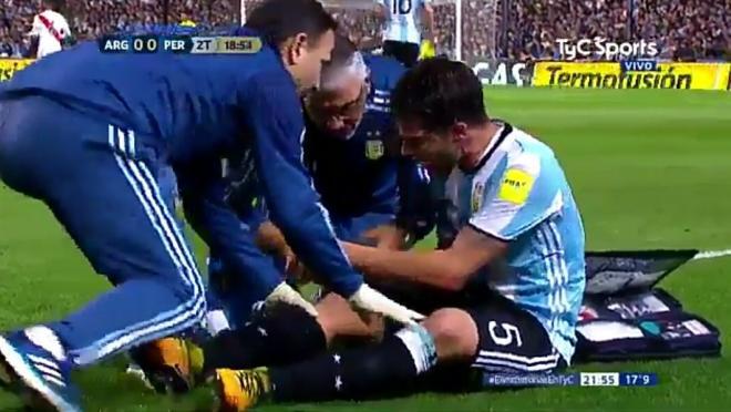 Fernando Gago Torn ACL Injury