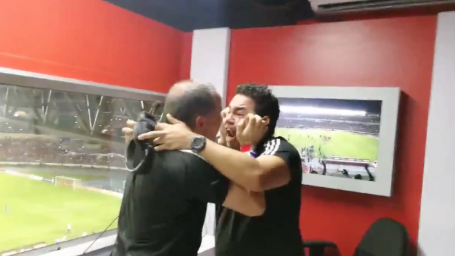 Panama Announcers react to World Cup Qualification