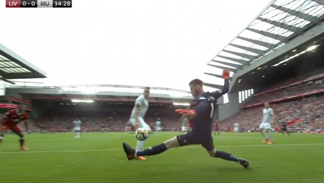 David Ge Gea Save Manchester United Liverpool
