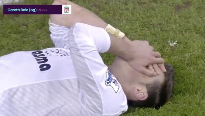 TBT Gareth Bale vs Liverpool