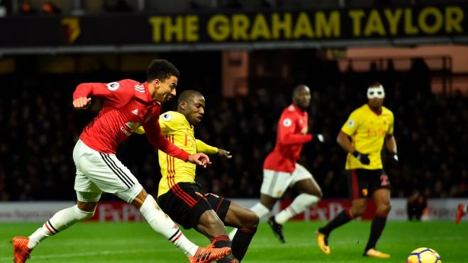 Jesse Lingard Goal vs Watford