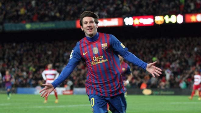Watch Lionel Messi 91 goals