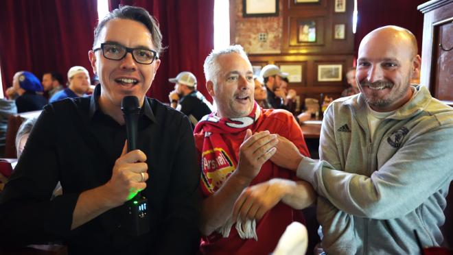 Greg Interviews Soccer Fans
