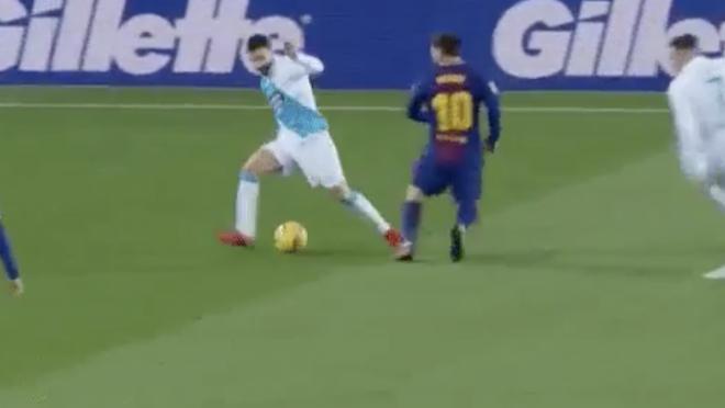 Messi And Jordi Alba Nutmeg