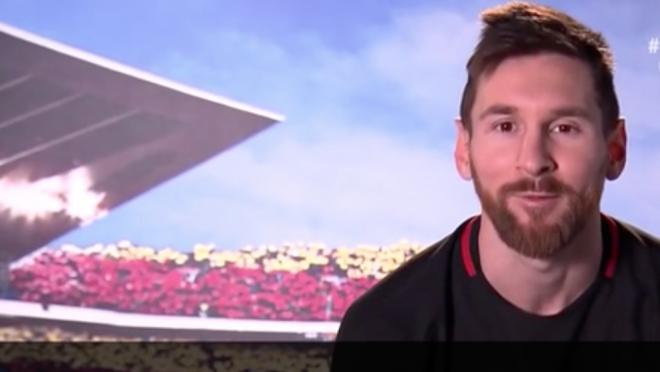 Lionel Messi send message to Neymar
