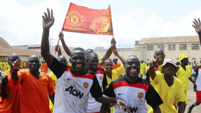 Prison Soccer in Uganda